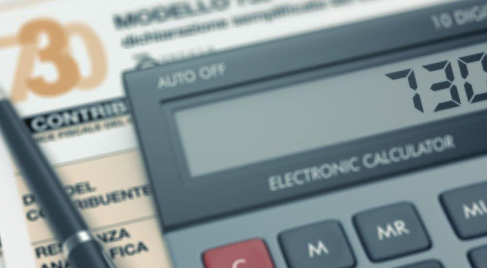 Sostituo imposta credito 730